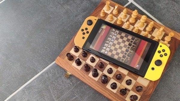 cờ vua nintendo switch