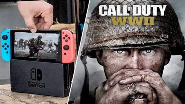 call of duty nintendo switch wwii