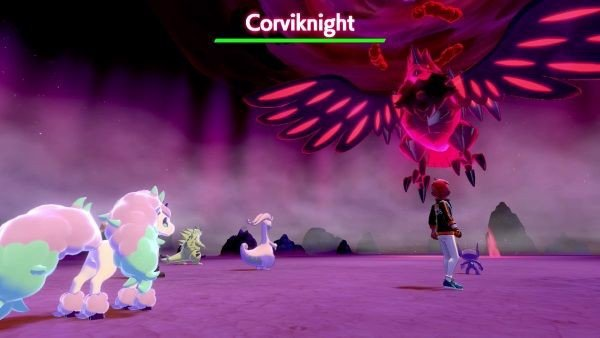 corviknight pokemon sword shield switch lite