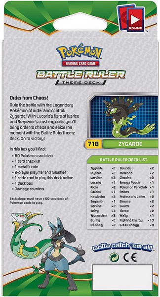 BATTLE RULER THEME DECK POKEMON TRADING CARD GAME