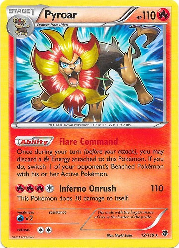 BURNING WINDS THEME DECK POKEMON TRADING CARD GAME