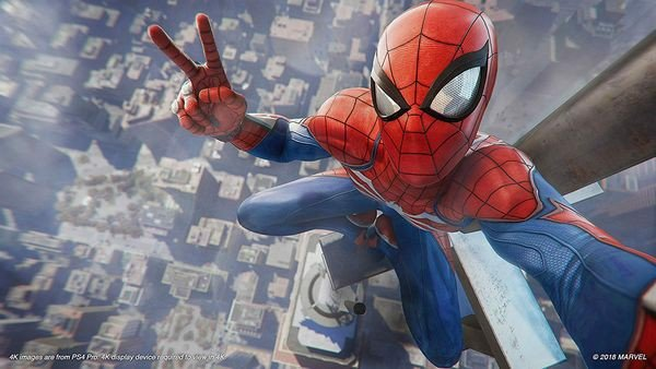 cửa hàng bán game Marvel's Spider-Man PS4