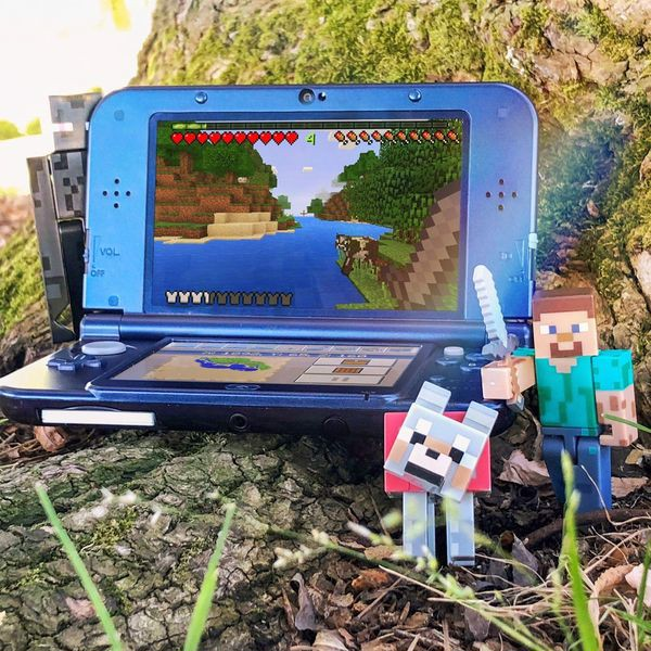 cửa hàng bán game Minecraft New Nintendo 3DS Edition
