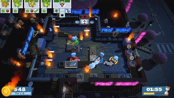 cửa hàng bán game Overcooked 2 cho Nintendo Switch
