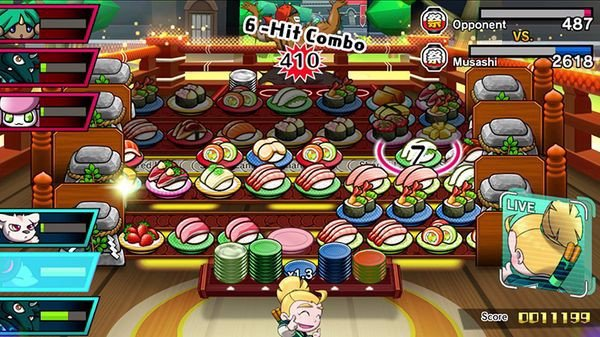 cửa hàng bán game Sushi Striker The Way of Sushido cho Nintendo Switch
