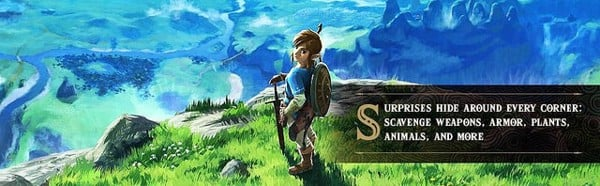 Cửa hàng bán legend of zelda breath of the wild