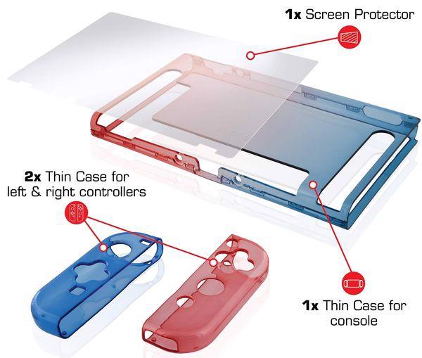 cửa hàng bán phụ kiện Ốp lưng silicon Nyko Thin Case cho Nintendo Switch