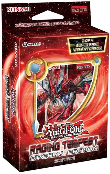 RAGING TEMPEST SPECIAL EDITION YU GI OH TCG