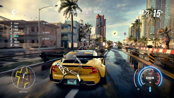 cửa hàng game bán Need for Speed Heat cho PS4