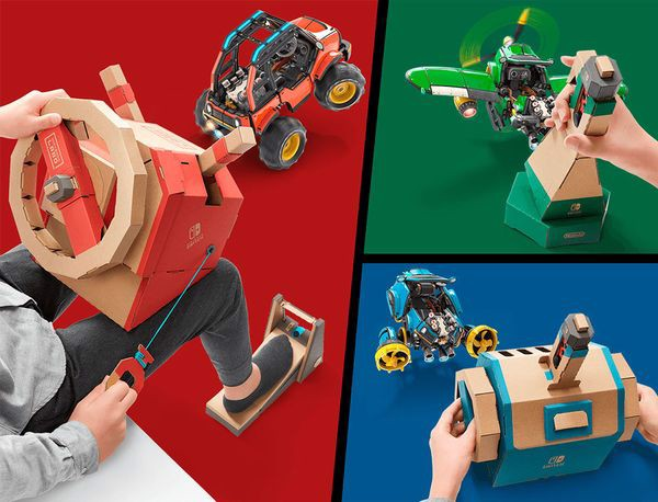 cửa hàng game bán Nintendo Labo Toy-con 03 Vehicle Kit Nintendo Switch