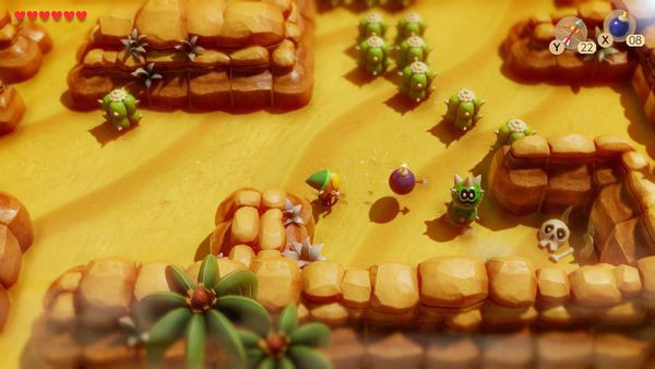 cửa hàng game bán The Legend of Zelda Link