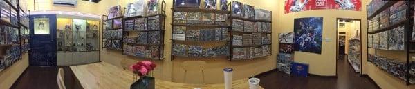Cửa hàng bán Gundam, Yugioh, Pokemon...