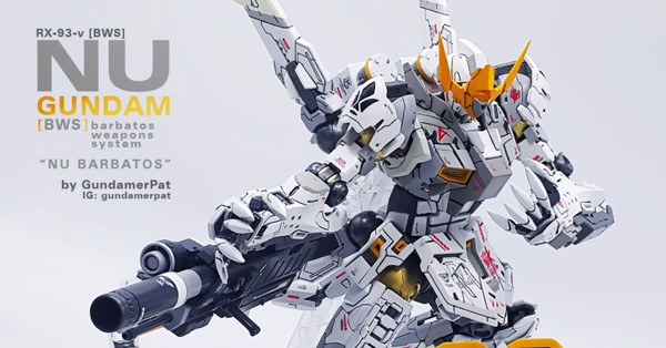 Mô hình Gundam Custom Build Gunpla Nu Barbatos