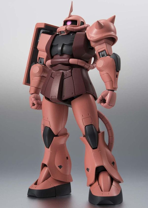 shop gundam bán Zaku II Char Custom Model ver Anime Robot Spirits Side MS R193