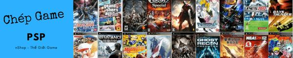 Chép game PSP