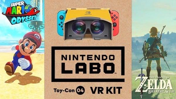 đánh giá Nintendo Labo VR kit