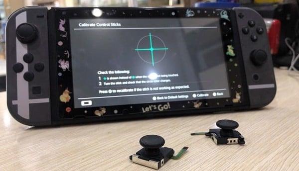 đánh giá analog tay cầm Nintendo Switch