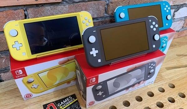 đánh giá Nintendo Switch Lite 2019