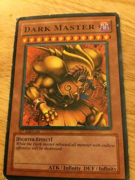 Dark Master Thẻ bài yugioh chế bựa