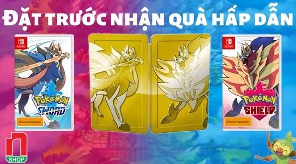 đặt trước Pokémon Sword và Shield