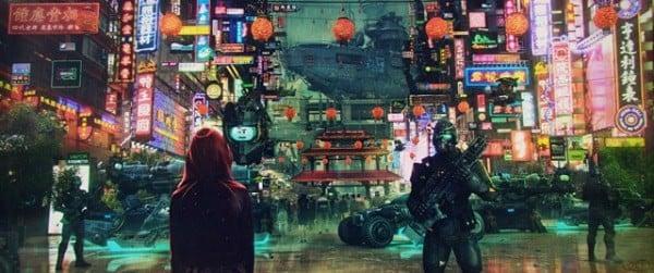Deus Ex cyberpunk