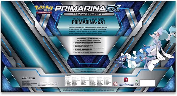 PRIMARINA GX PREMIUM COLLECTION POKEMON TRADING CARD GAME