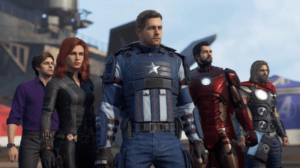 dia game ps4 Marvel's Avengers
