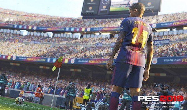 Đĩa game PS4 PES 2019