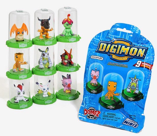 DIGIMON DOMEZ MYSTERY PACK