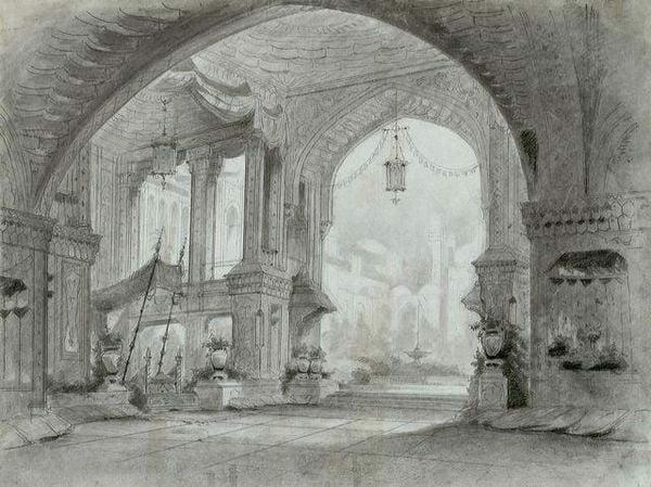 diorama nhà hát nghệ thuật