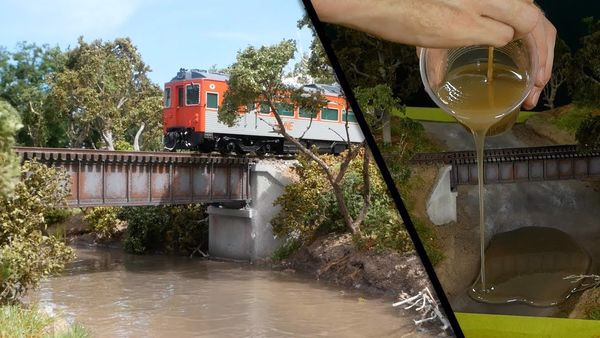 diorama train tàu hỏa