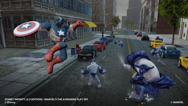 DISNEY INFINITY 2 0 EDITION  MARVEL SUPER HEROES