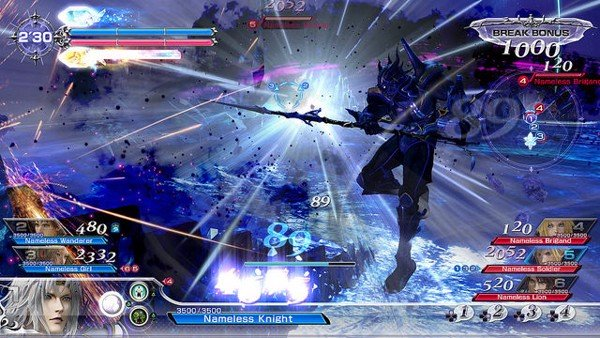 game hay cho PS4 song đấu Dissidia Final Fantasy NT