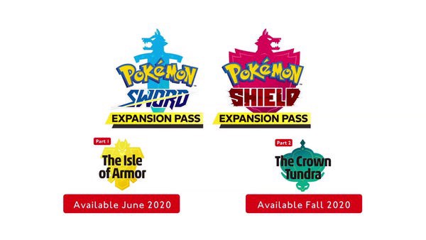 Ngày phát hành DLC Pokemon Sword and Shield Expansion Pass