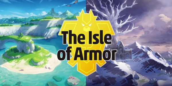 DLC Pokemon Sword and Shield Expansion Pass - The Isle of Armor