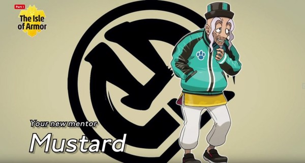 DLC Pokemon Expansion Pass Mustard