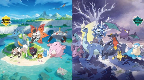 DLC Pokemon Sword and Shield Expansion Pass - Pokemon cũ trở lại