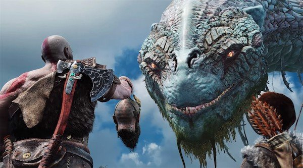 Đồ họa God of War 4