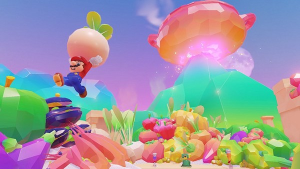Đồ họa Super Mario Odyssey cho Nintendo Switch