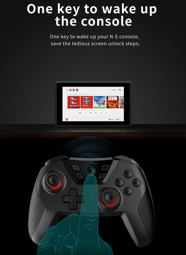 Dobe Wireless Controller Nintendo Switch PC thật