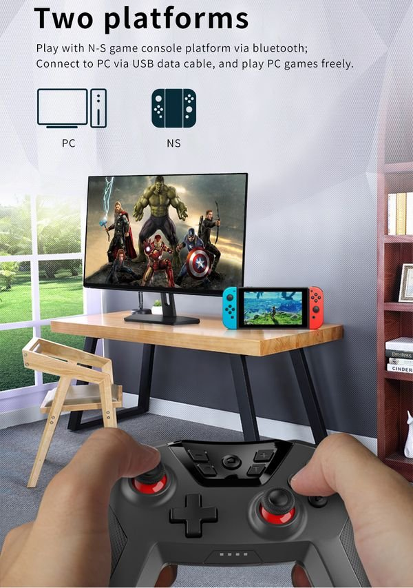 Dobe Wireless Controller Nintendo Switch PC thế hệ mới