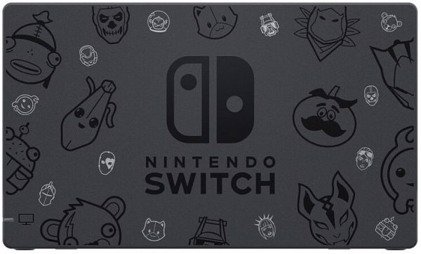 dock Fortnite limited edition Nintendo Switch