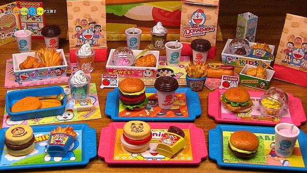 DORAEMON BURGER SHOP 8 nshop