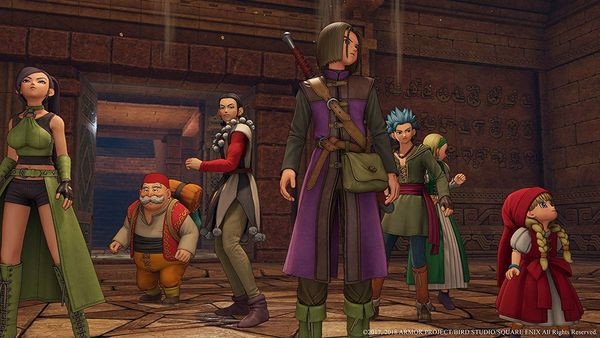 Dragon Quest XI Echoes of an Elusive Age cho PS4 nShop