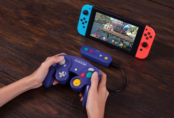 game shop bán GBros. Wireless Adapter 8Bitdo GameCube cho Nintendo Switch