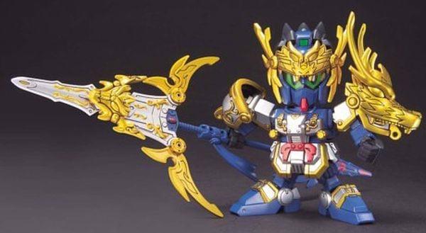 figure Gokoshou Gundam Ryukiho Set SD Gundam Sangokuden