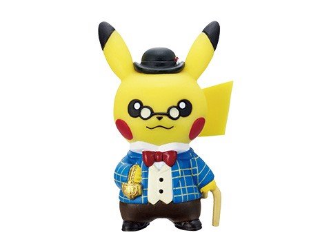 shop pokemon bán figure Pokemon Center Tokyo DX Set Gentlemanly Pikachu
