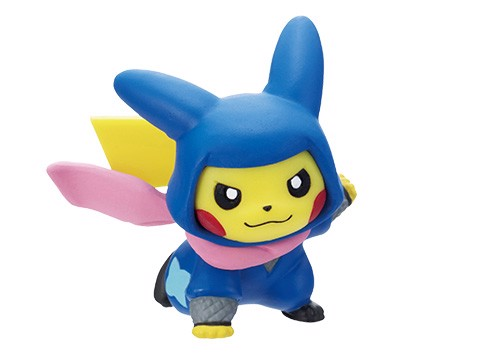 shop pokemon bán figure Pokemon Center Tokyo DX Set Ninja Pikachu