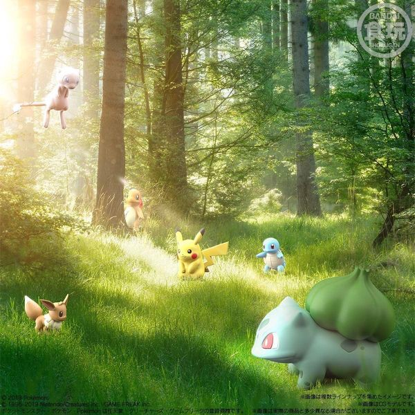 figure Pokemon Scale World Kanto siêu đẹp