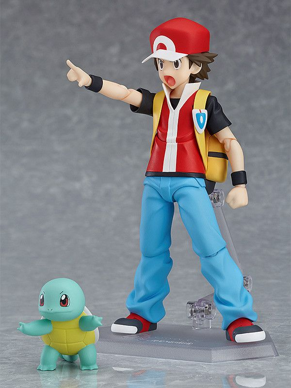 figure Red Action Figure Pokemon Figma 356 Nhật Bản